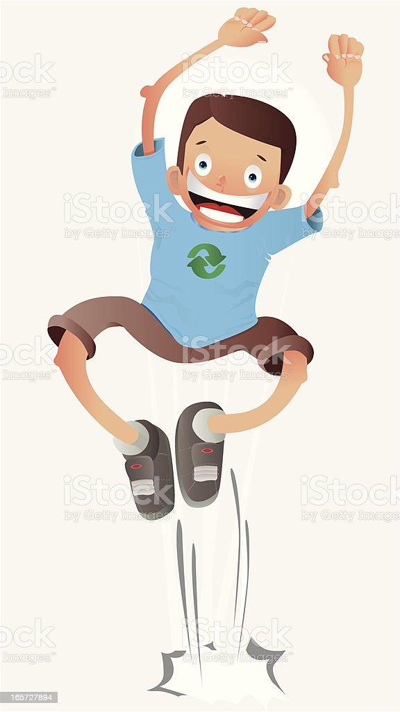 Happy Boy royalty-free stock vector art