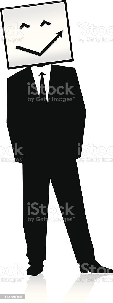 Happy Businessman royalty-free stock vector art