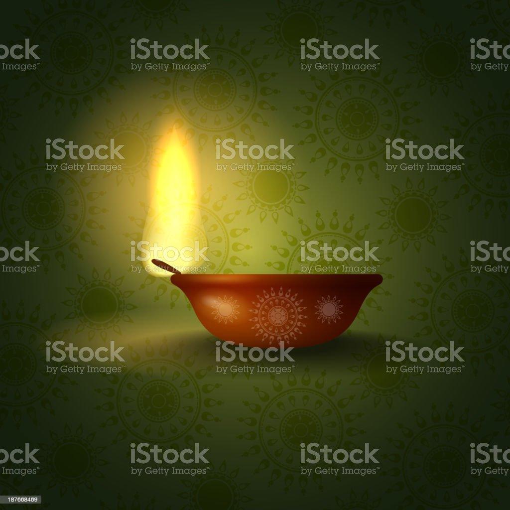 Happy diwali. royalty-free stock vector art