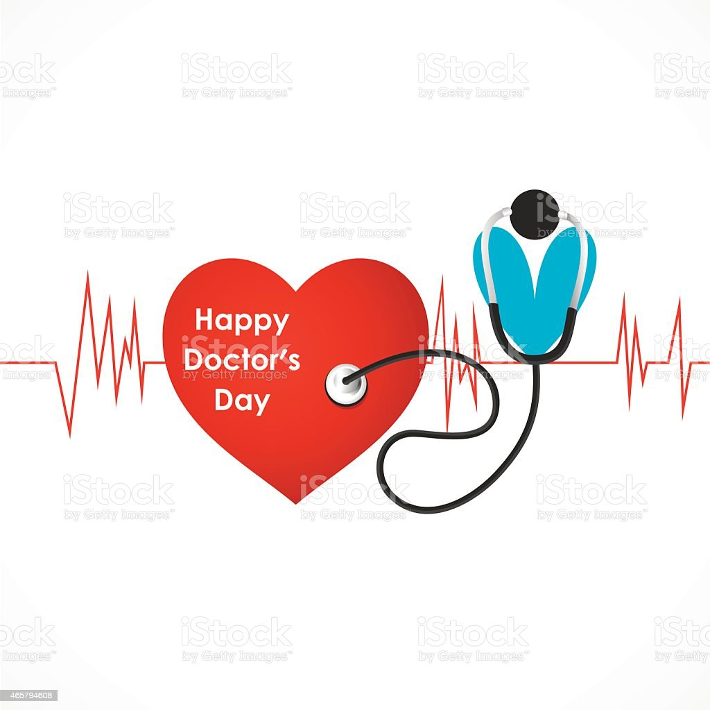 happy doctor day design vector vector art illustration