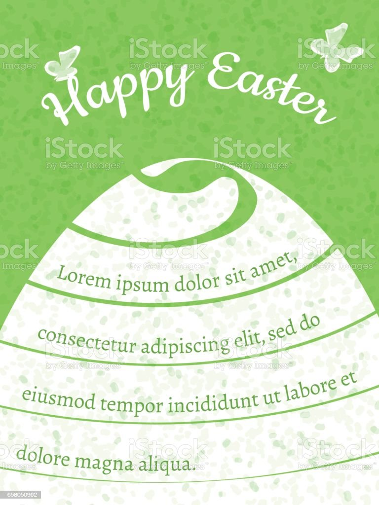 Happy easter gift card vector template stock vector art 658050962 happy easter gift card vector template royalty free stock vector art negle Images