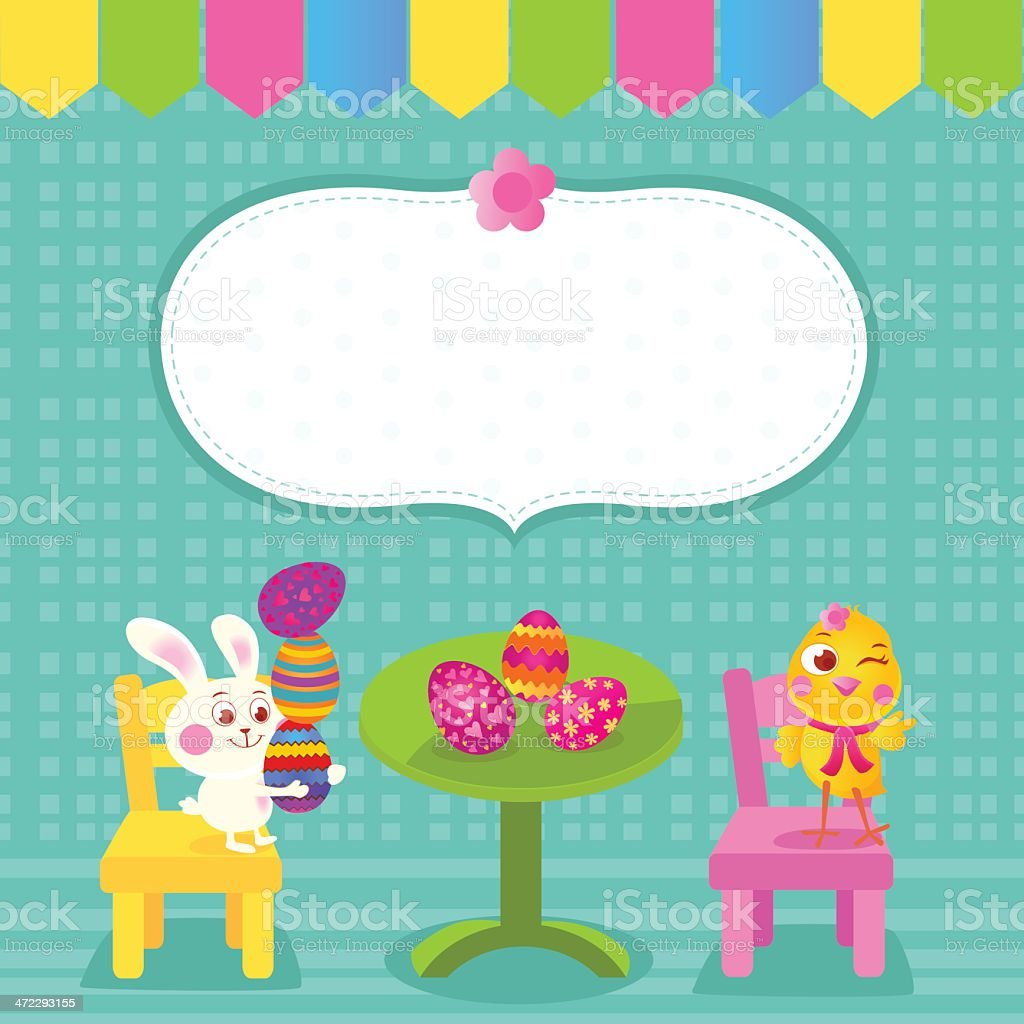 Happy Easter royalty-free stock vector art