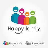 Happy Family Logo