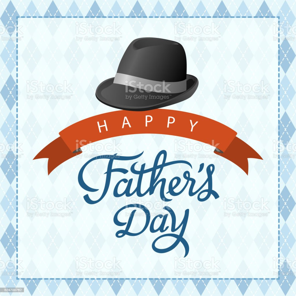 Happy Father's Day vector art illustration
