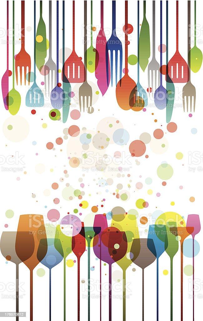Happy Feast vector art illustration