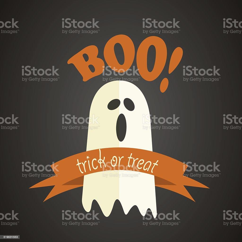 Happy Halloween Design vector art illustration
