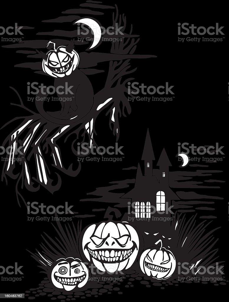 Happy Halloween - vector set. royalty-free stock vector art