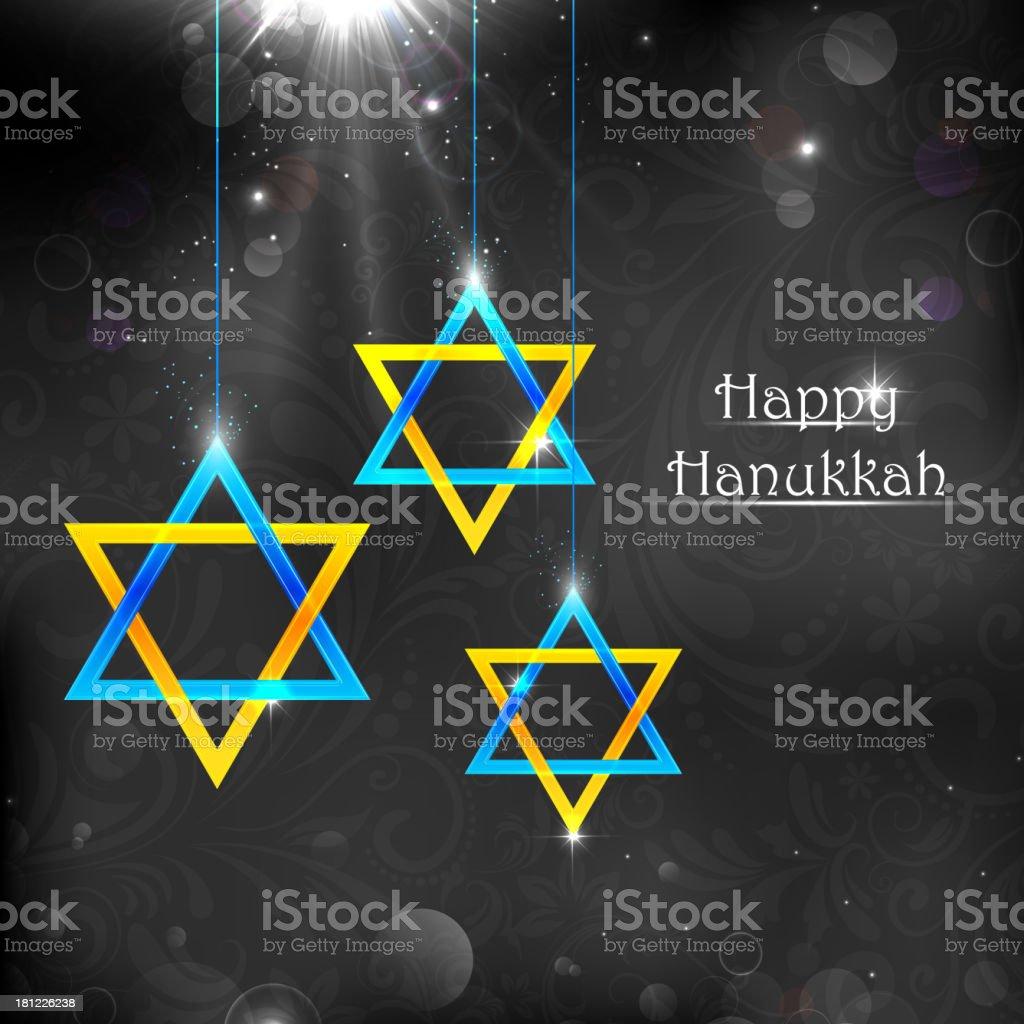 Happy Hanukkah royalty-free stock vector art