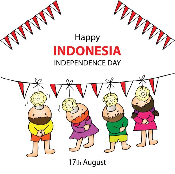 Indonesian Flag Clip Art, Vector Images & Illustrations