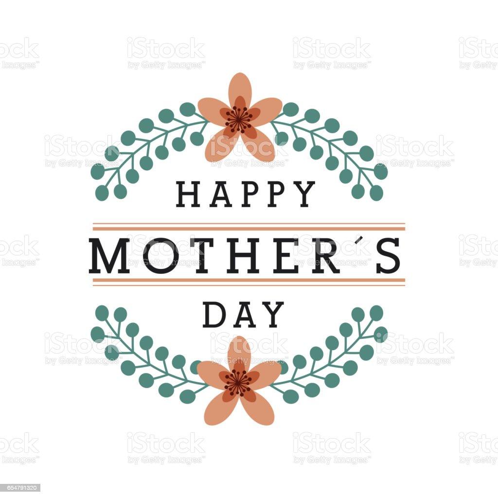 happy mothers day design stock vector art 654791320 istock