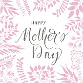 Happy Mothers Day poster.