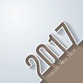 happy new year 2017 - Design