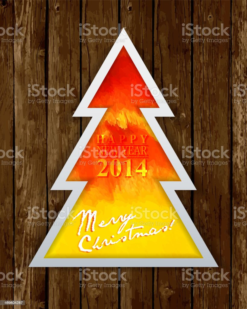 Img or background image - Happy New Year Card Or Background Royalty Free Stock Vector Art