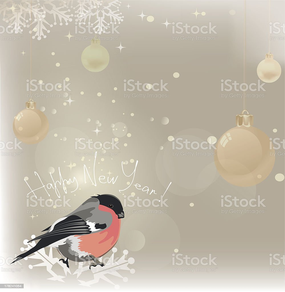 Happy new year. Christmas Background. royalty-free stock vector art