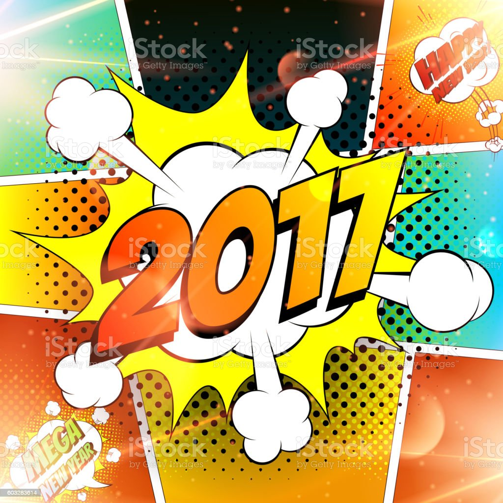 Happy new year vector illustration royalty-free stock vector art