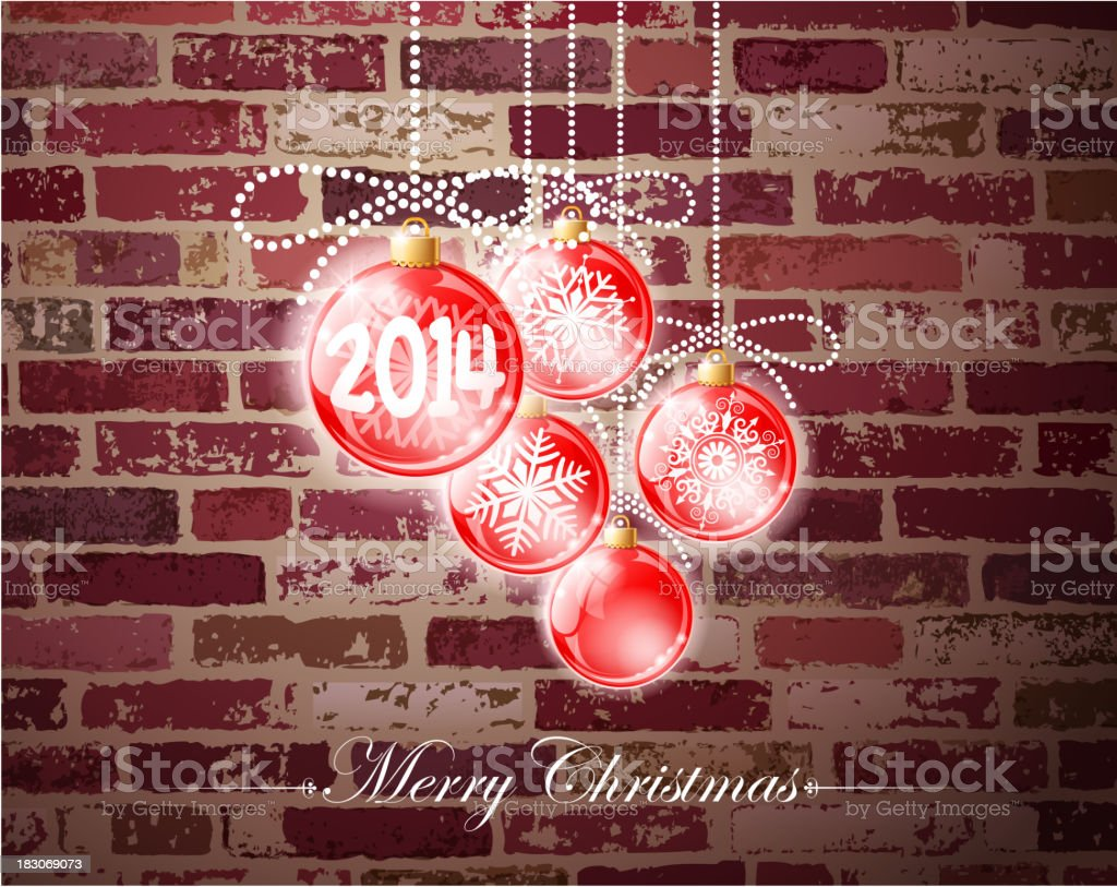 happy new year wall royalty-free stock vector art