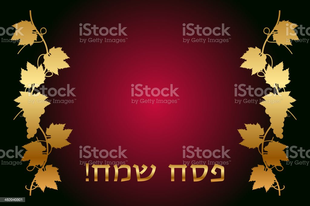 happy passover frame royalty-free stock vector art