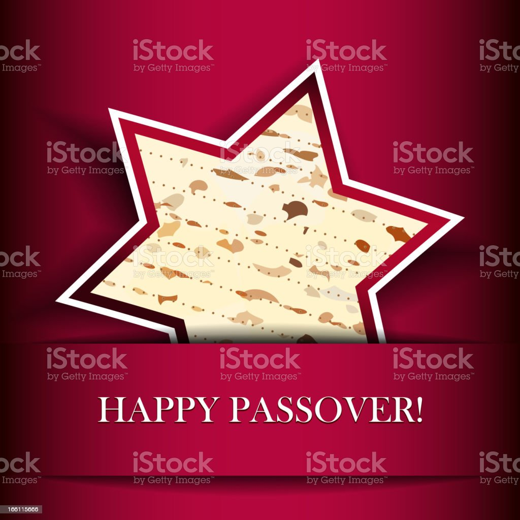 Happy Passover vector art illustration