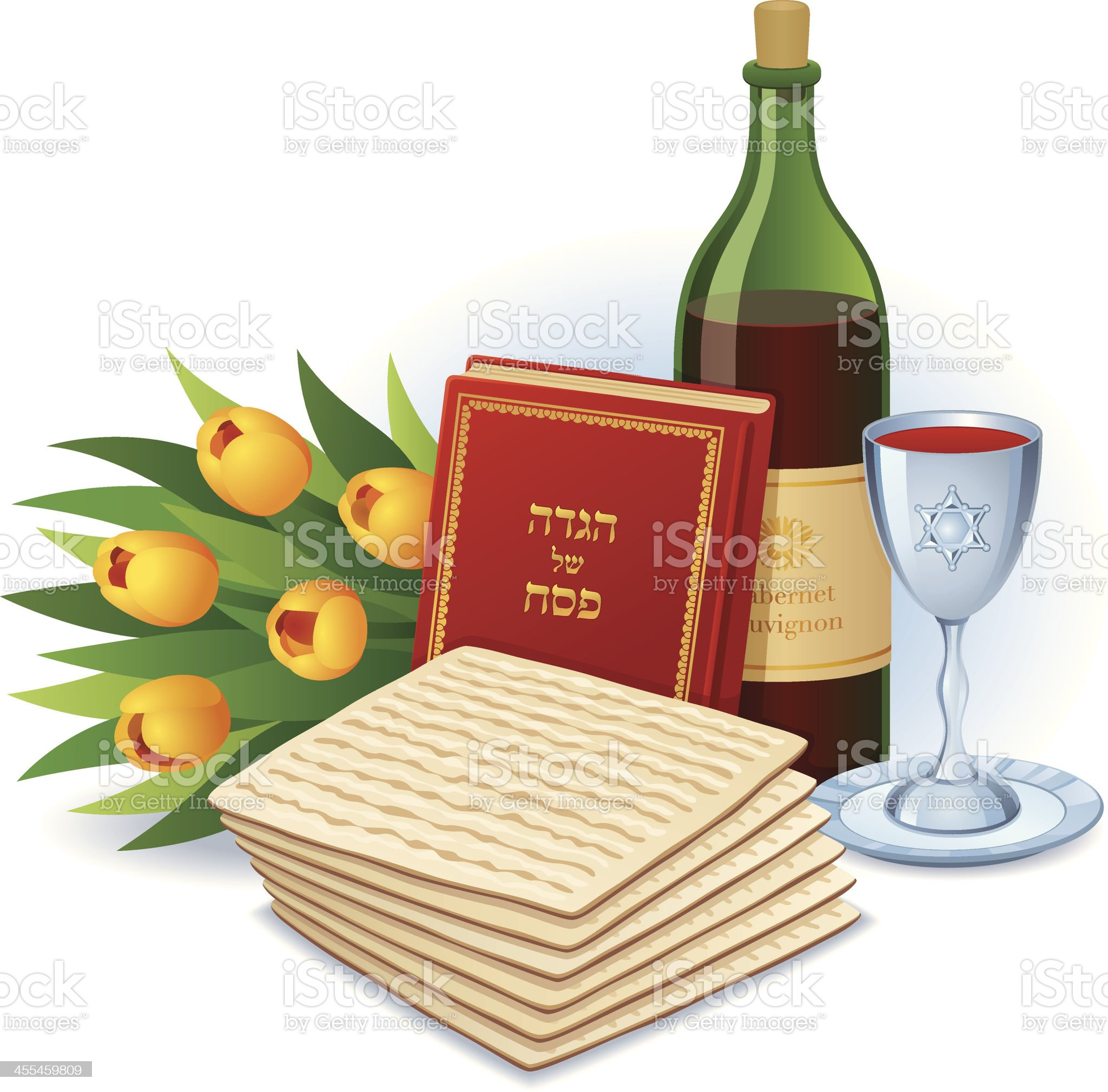 Happy Passover royalty-free stock vector art