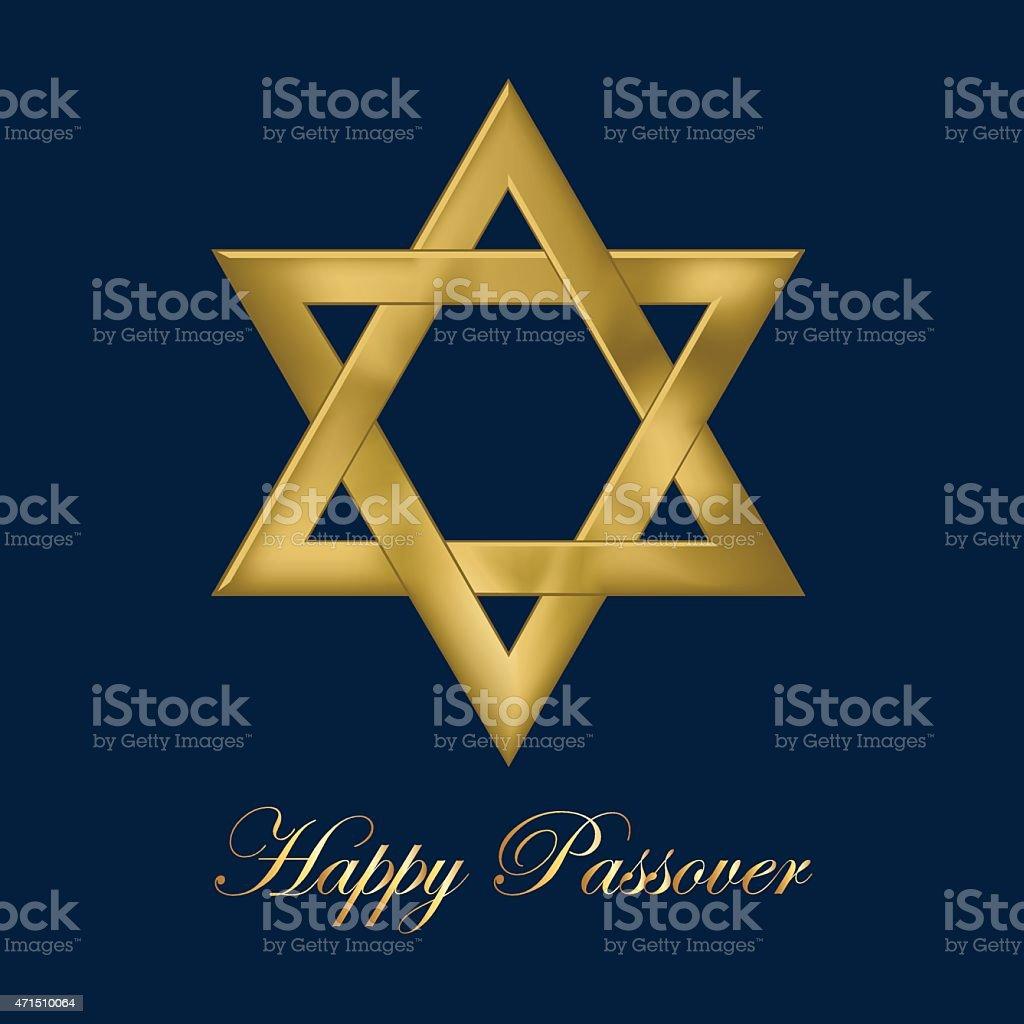 Happy Passover vector art illustration