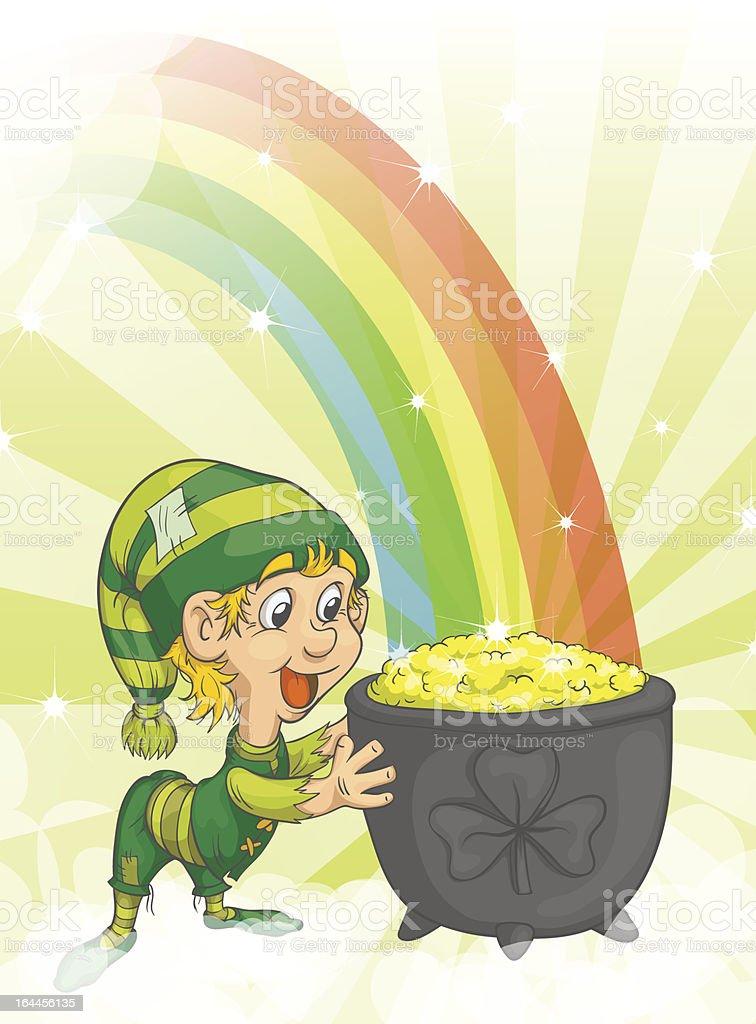 Happy St. Patrick's Day royalty-free stock vector art