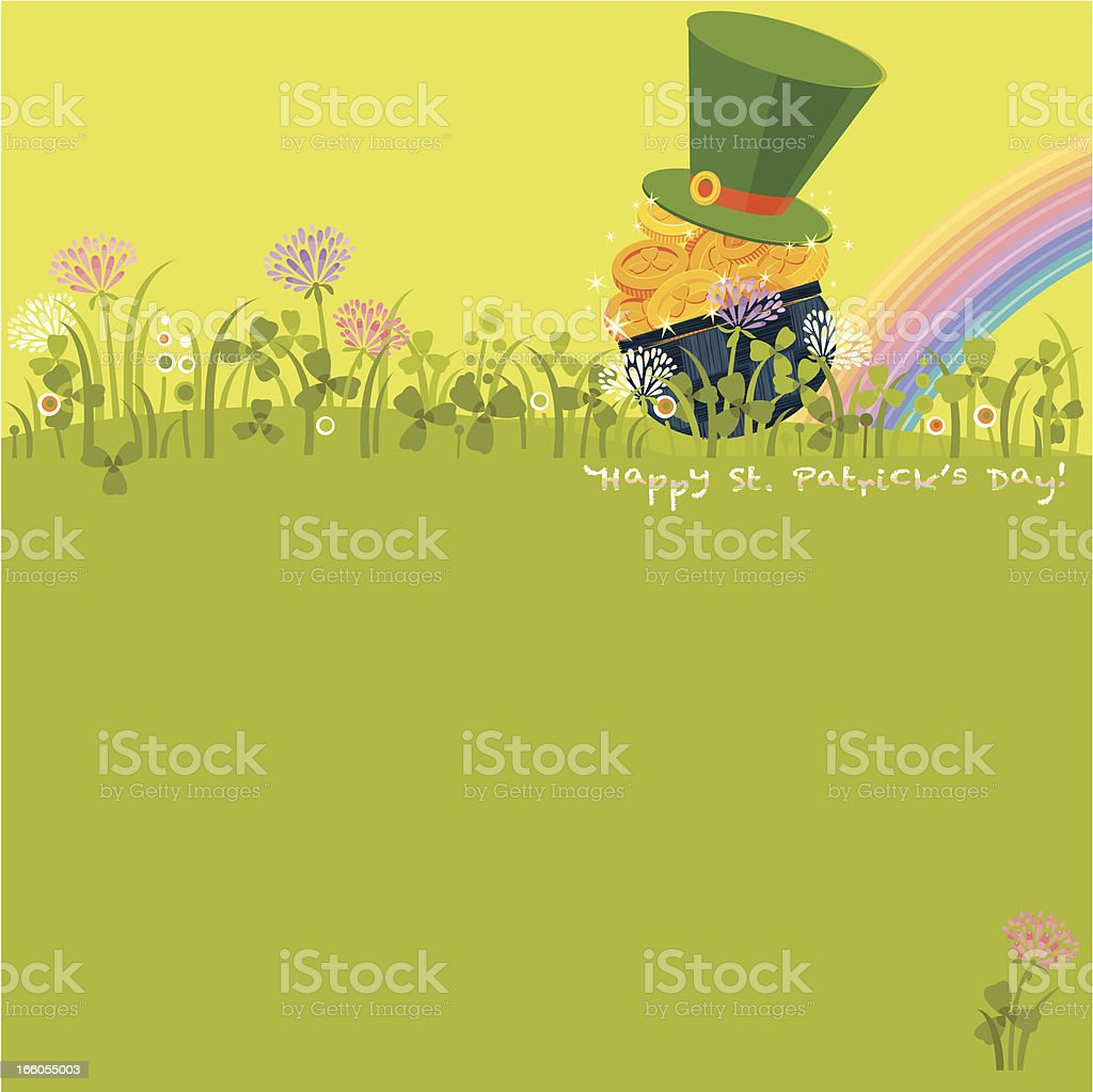 Happy St. Patrick's Day! royalty-free stock vector art