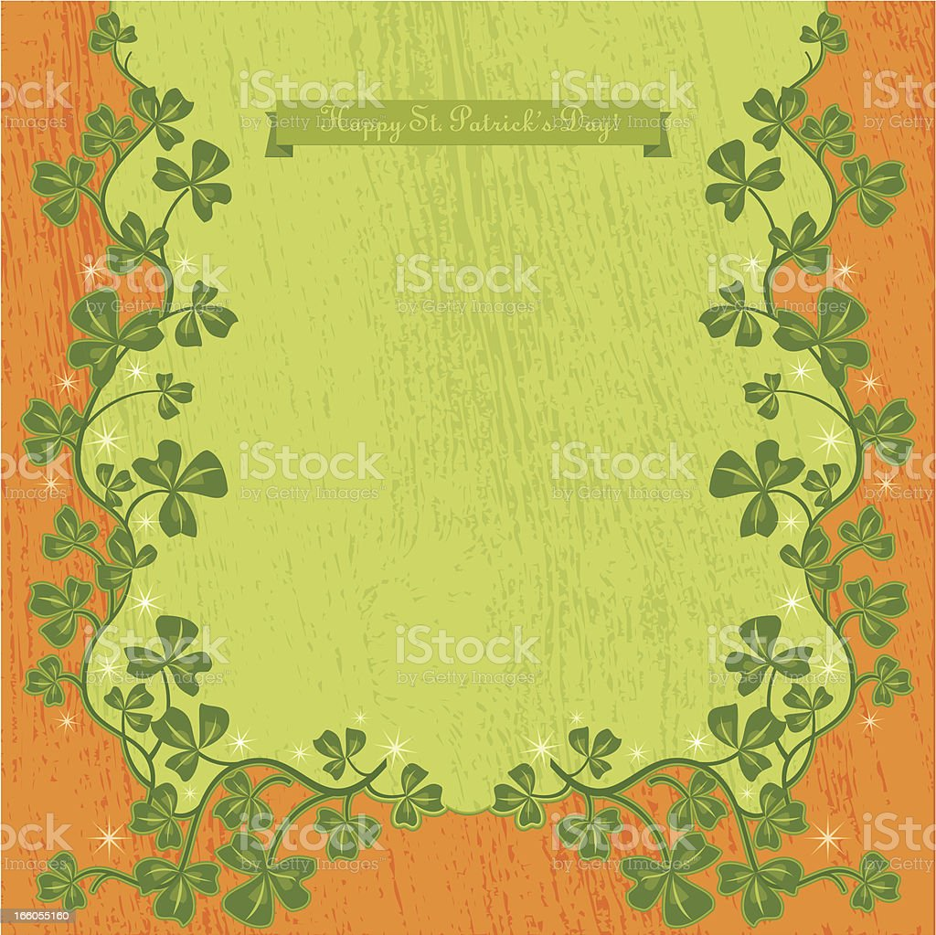 Happy St. Patrick's Day! royalty-free stock vector art