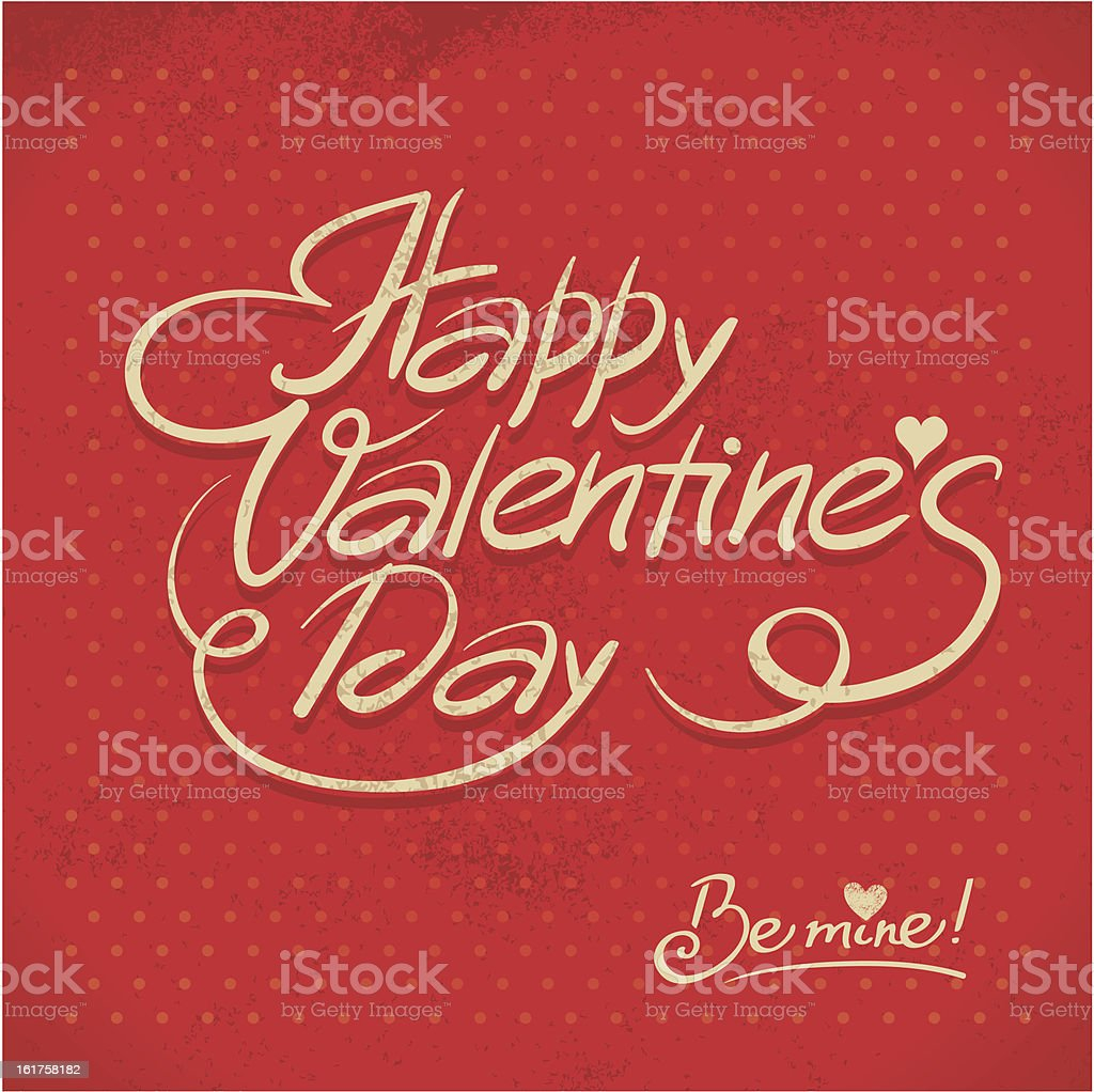 Happy Valentine's Day royalty-free stock vector art