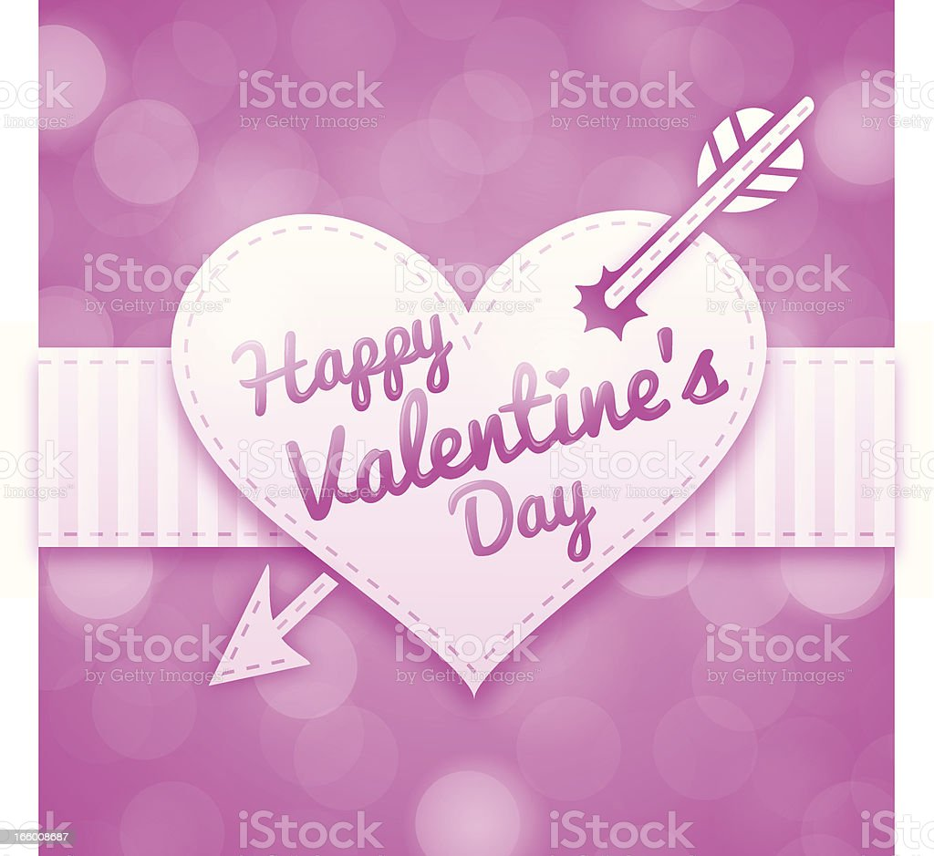 Happy Valentines Day royalty-free stock vector art