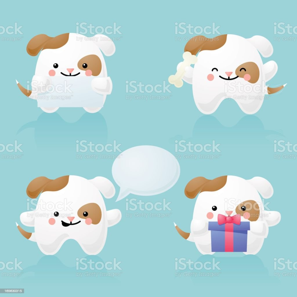 happyland: dog character royalty-free stock vector art