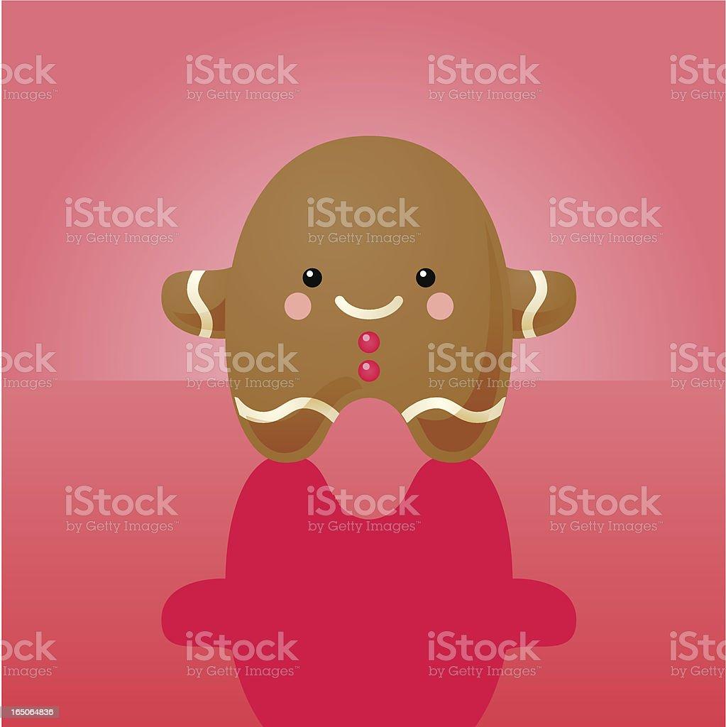 happyland: gingerbread man royalty-free stock vector art