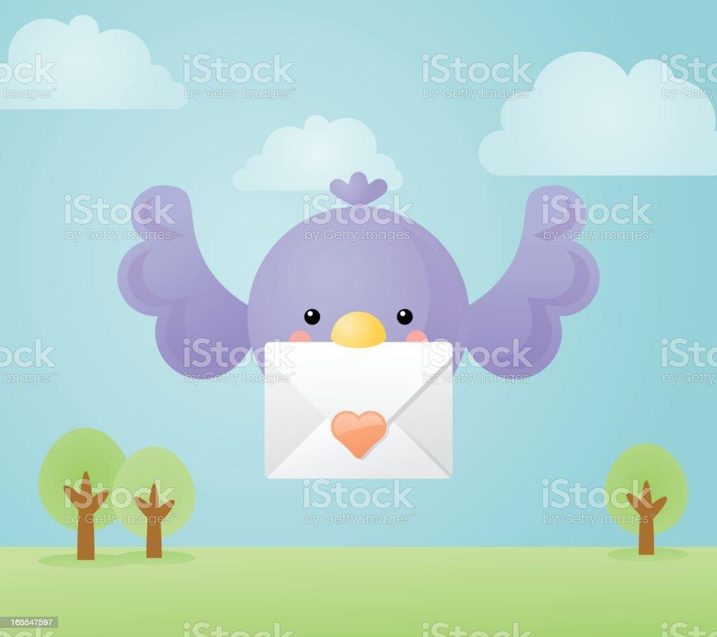 happyland: love message royalty-free stock vector art