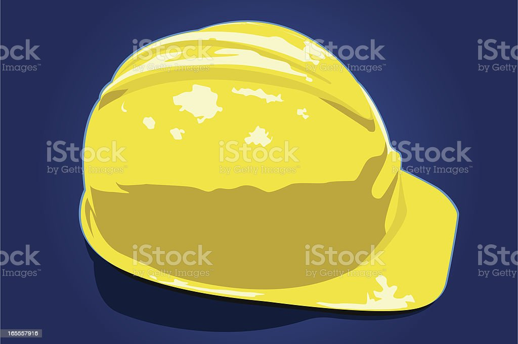 Hard hat Vector royalty-free stock vector art