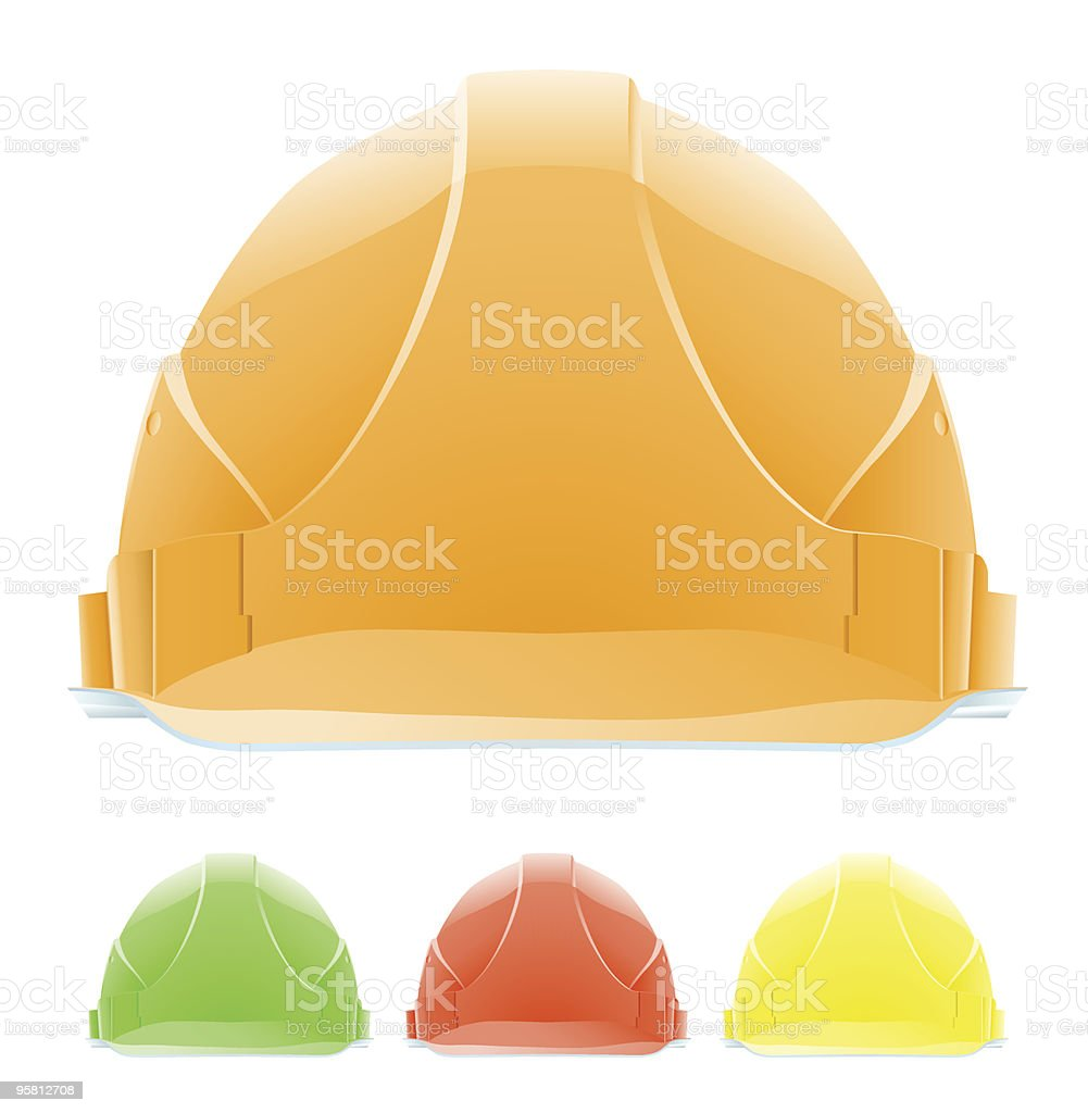 Hardhat royalty-free stock vector art