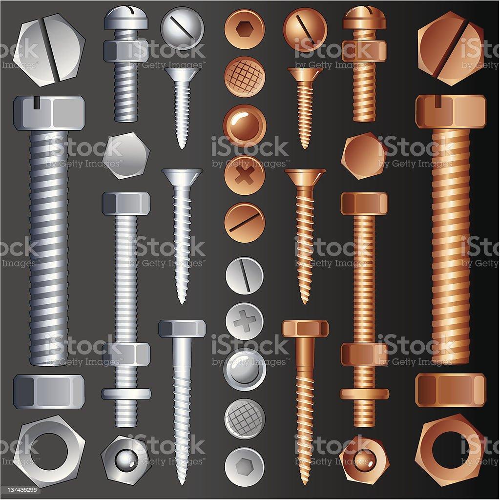 Hardware Elements royalty-free stock photo