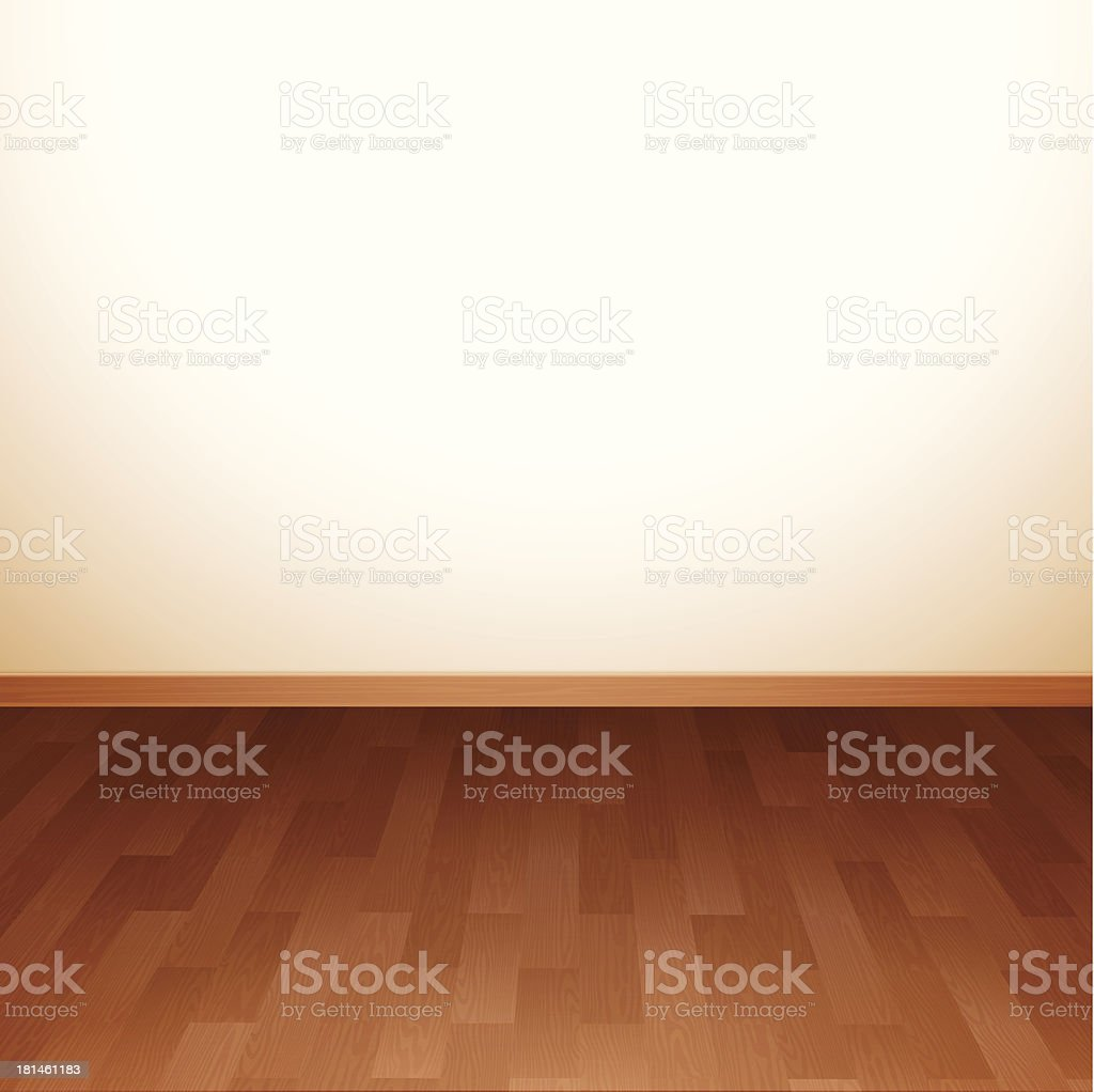 Hardwood Floor Background vector art illustration