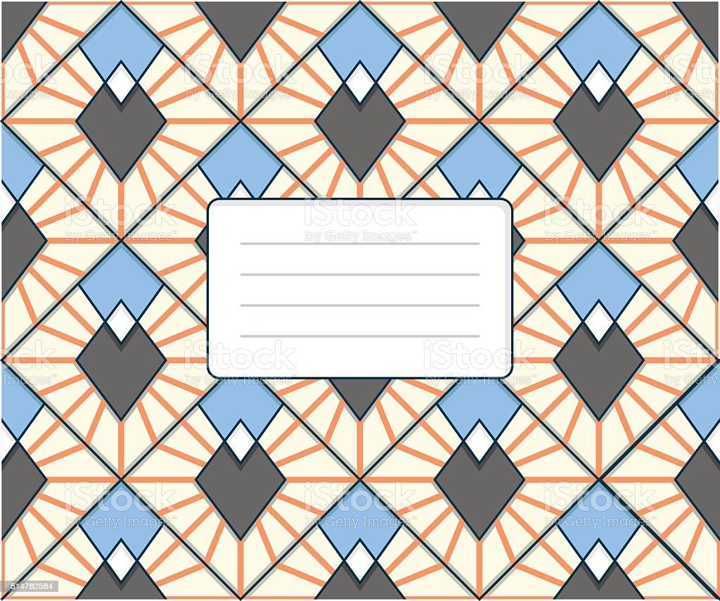 Harlequin pattern vector art illustration