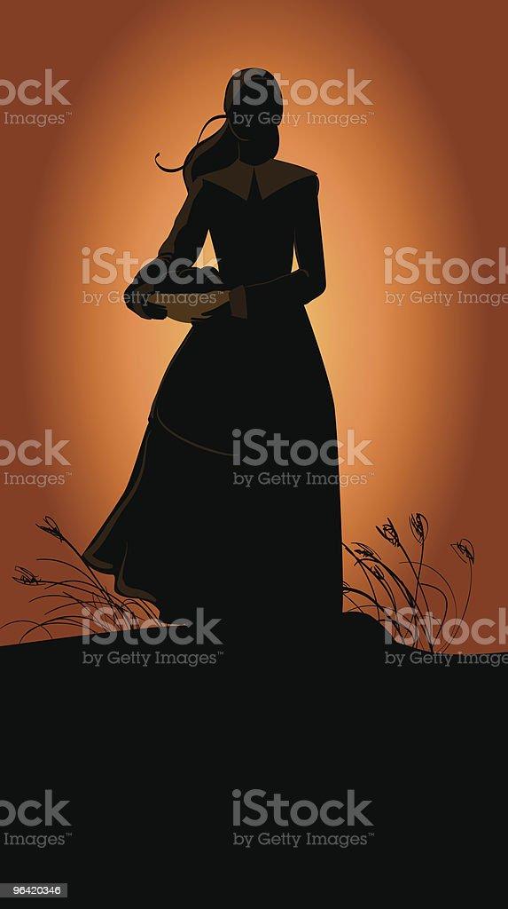 Harvest vector art illustration