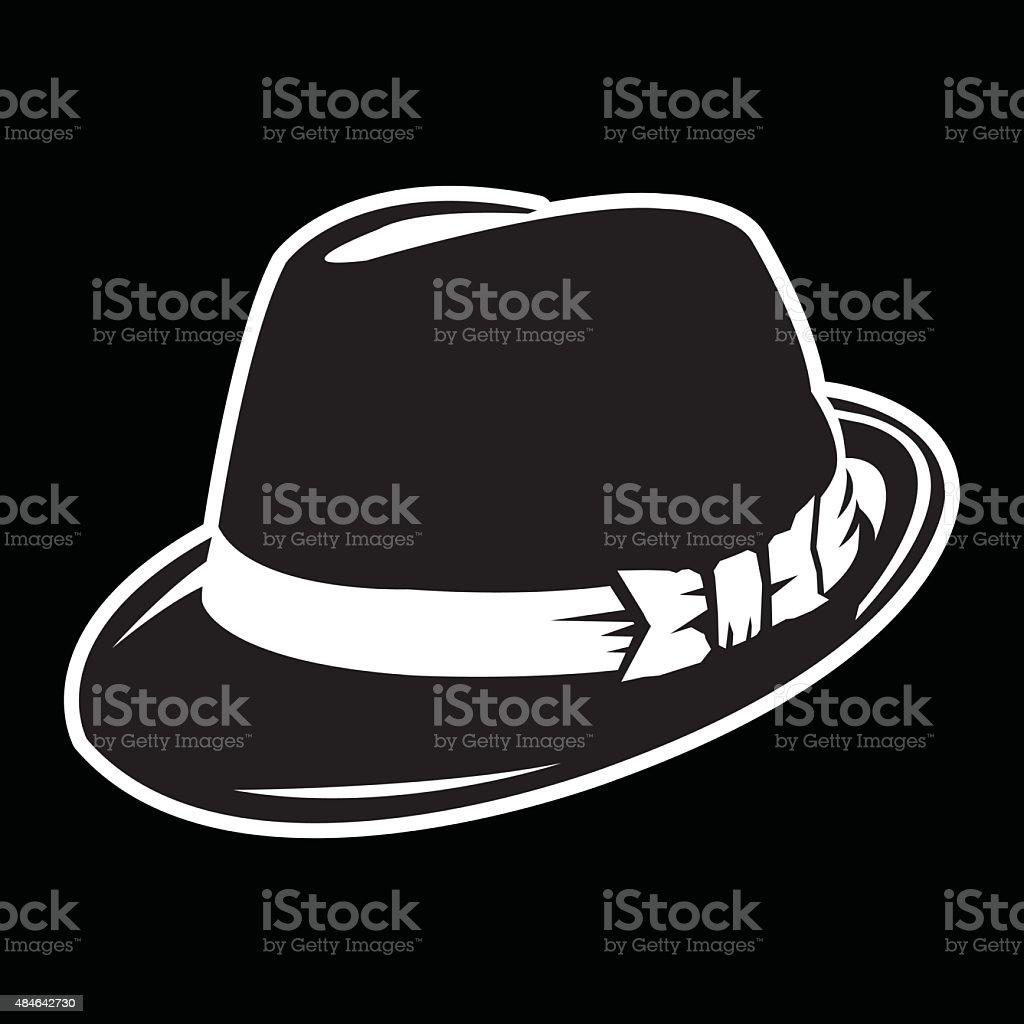 Hat vector art illustration