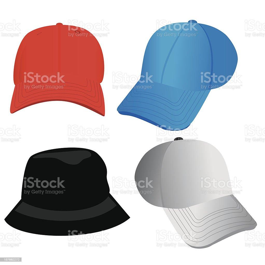 Hats - Vector! royalty-free stock vector art