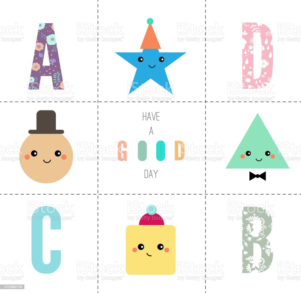 Have a good day! royalty-free stock vector art