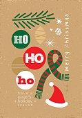 ho ho ho! - christmas card