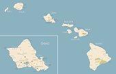 Hawaii Map