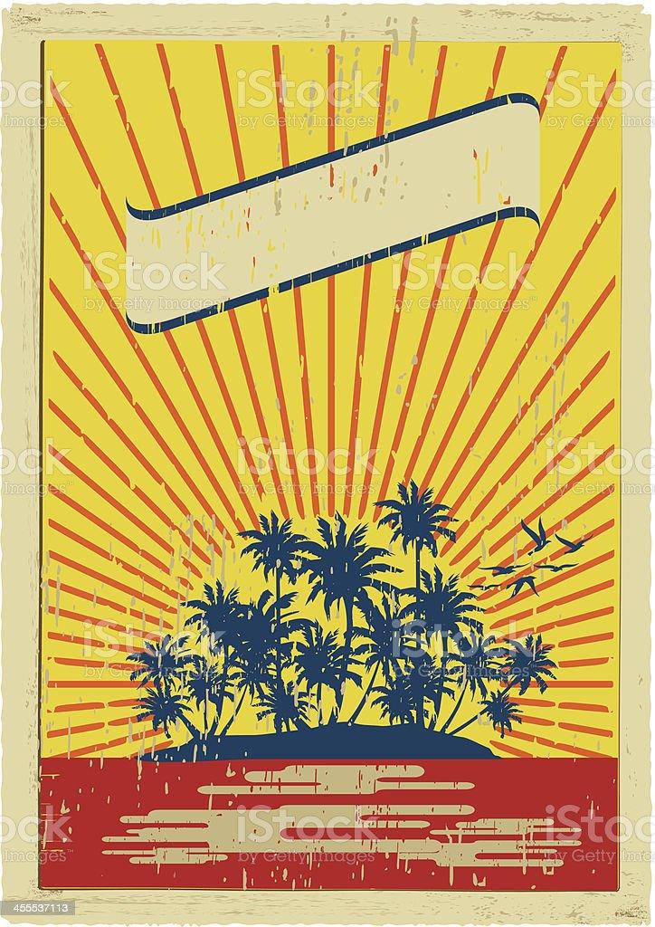 hawaiian mail royalty-free stock vector art