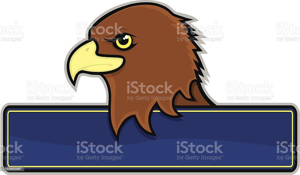 Hawk Sign royalty-free stock vector art