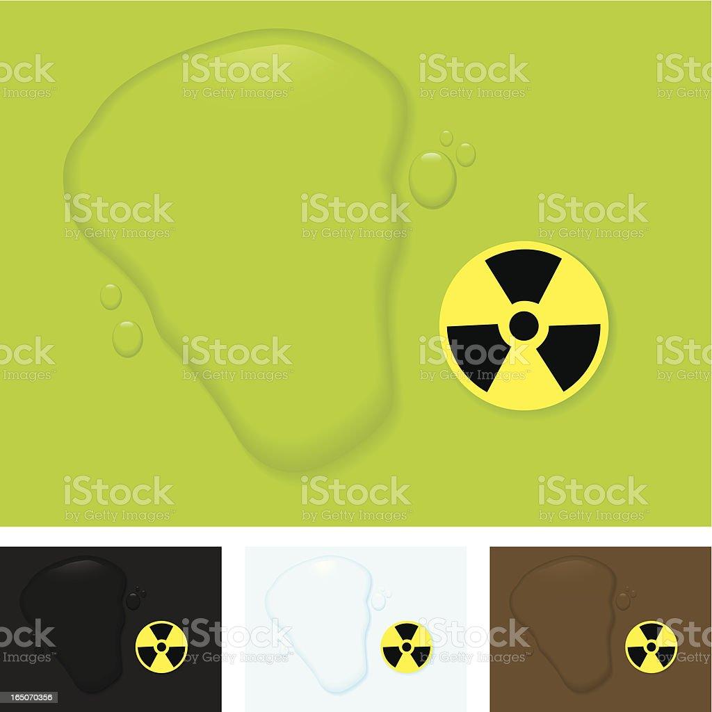 Hazardous Liquid royalty-free stock vector art