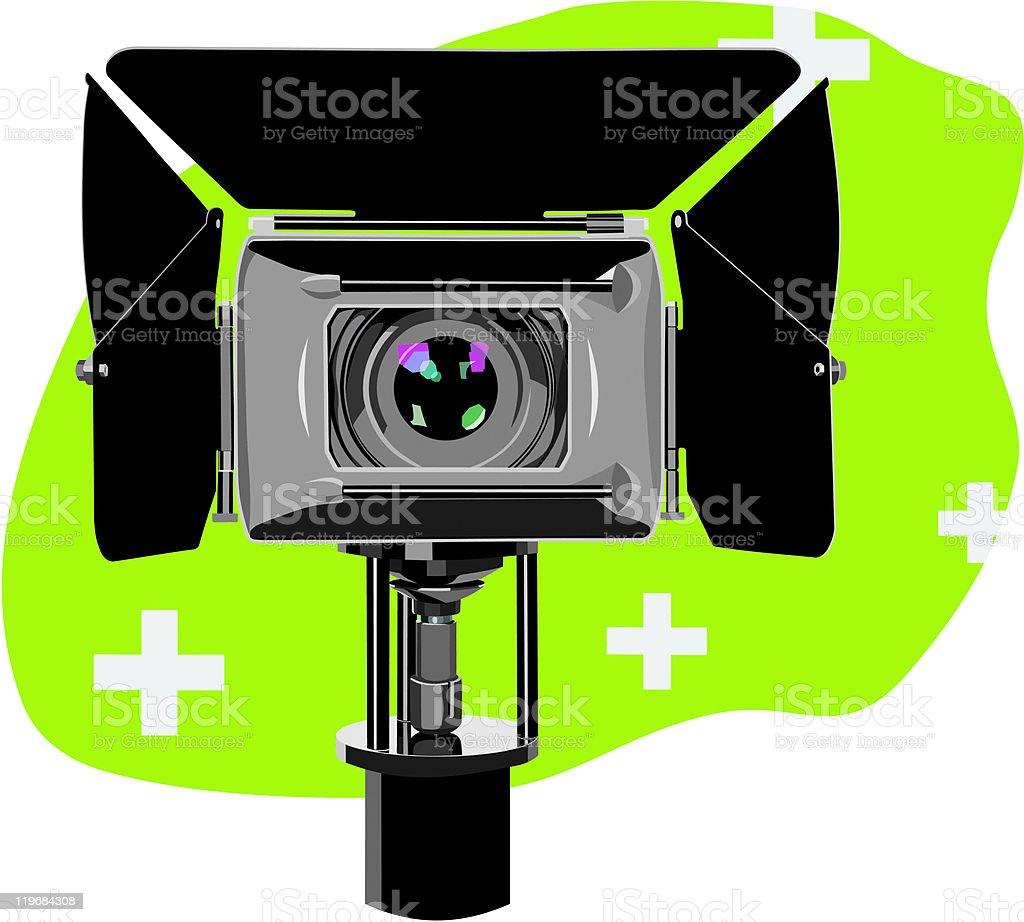 hd-camcorder royalty-free stock vector art