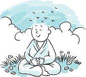 Head In Clouds Meditation Zen