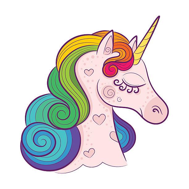rainbow unicorn clipart - photo #10
