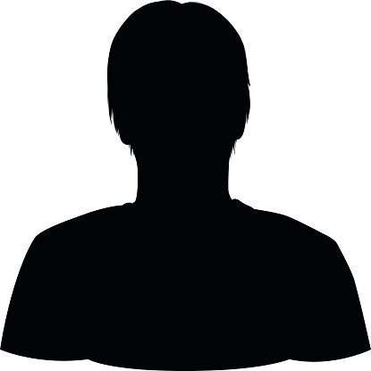 female head silhouette front related keywords and tags
